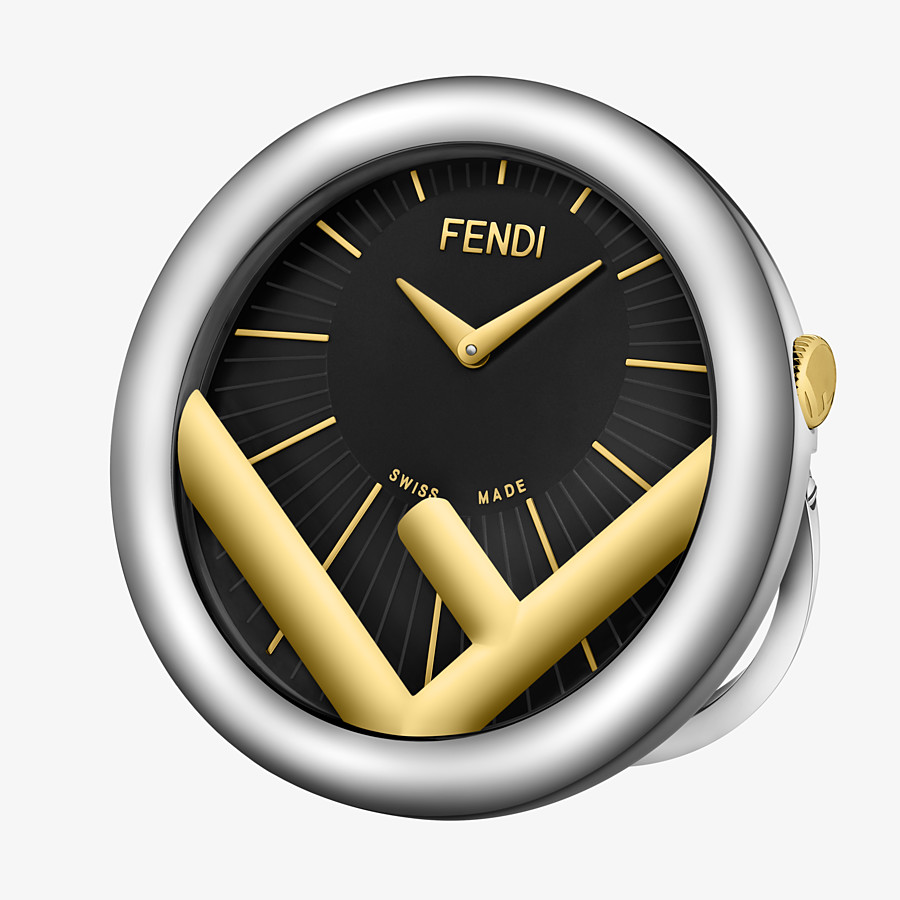 FENDI RELOJ DE SOBREMESA RUN AWAY - 60 mm - Reloj de sobremesa con el logotipo F is Fendi - view 2 detail