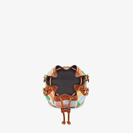 FENDI MON TRESOR - Mini bag in beige canvas - view 5 thumbnail