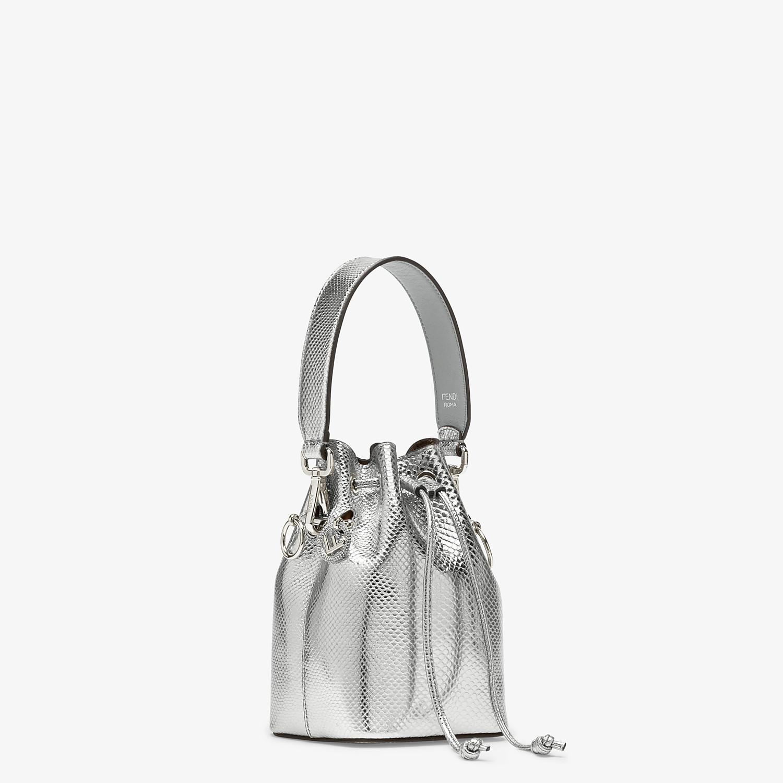 FENDI MON TRESOR - Silver karung mini bag - view 2 detail