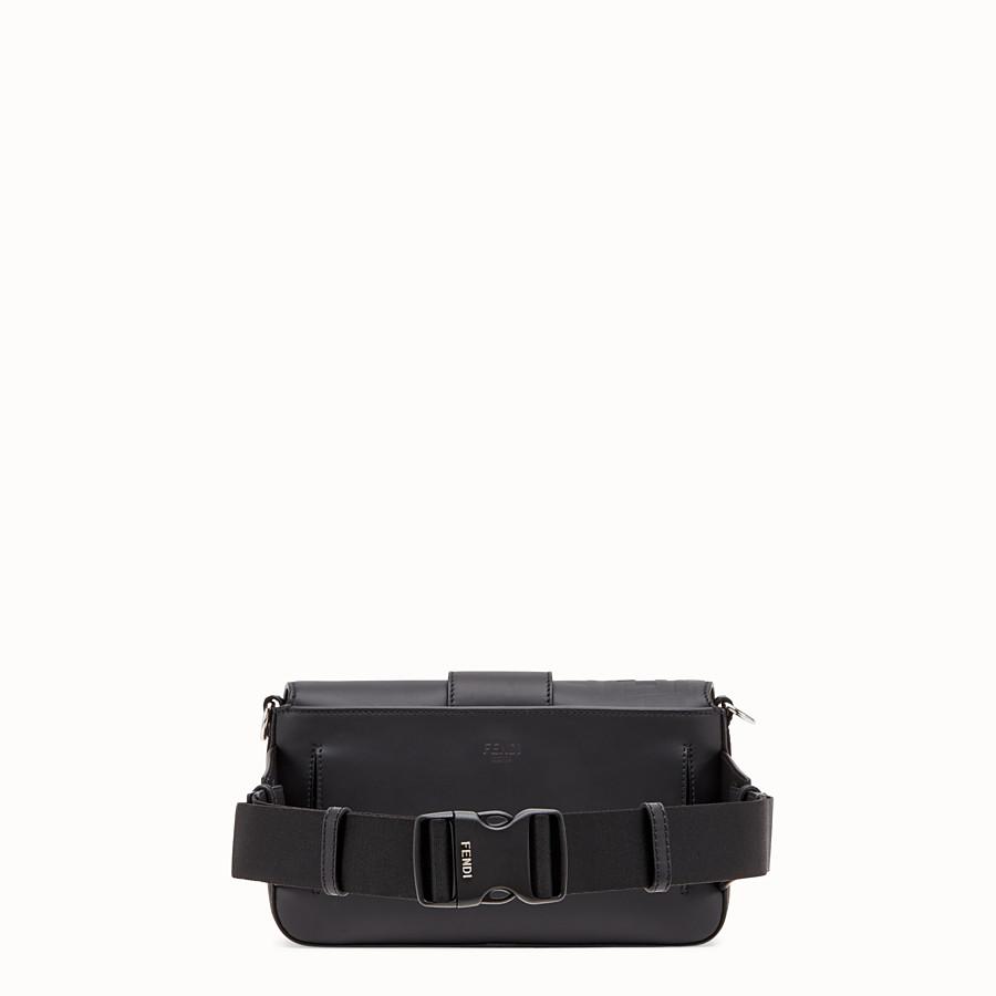 FENDI BAGUETTE - Black, calf leather bag - view 3 detail