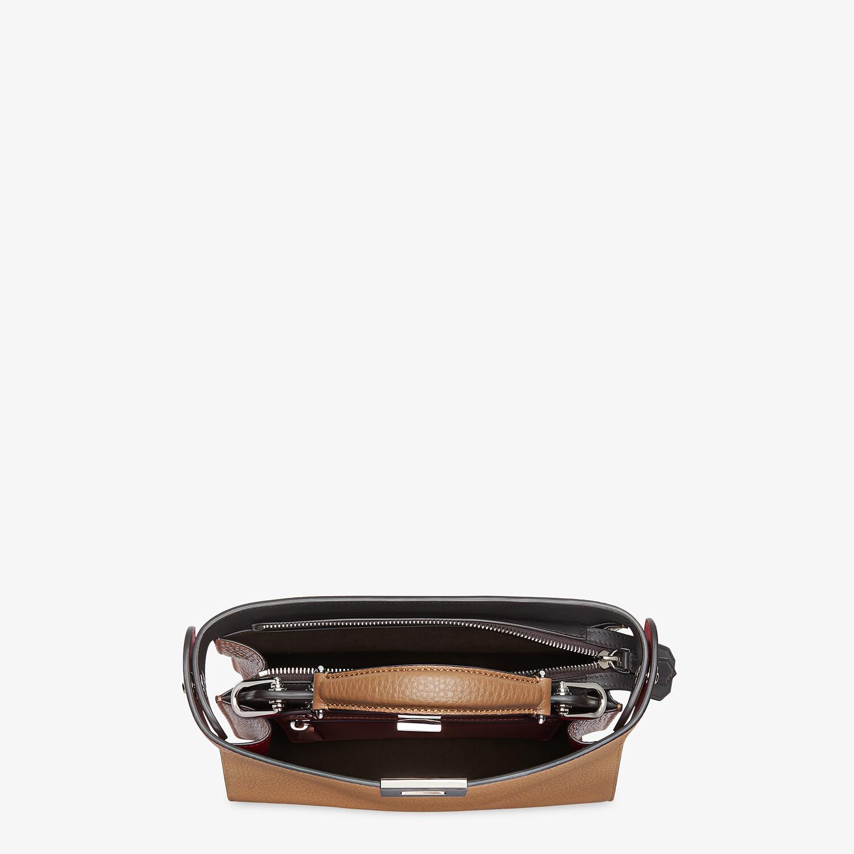 FENDI PEEKABOO ISEEU MINI - Beige leather bag - view 5 detail