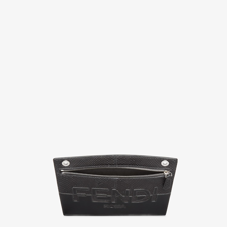 FENDI PEEKABOO POCKET - Black leather pocket - view 3 detail