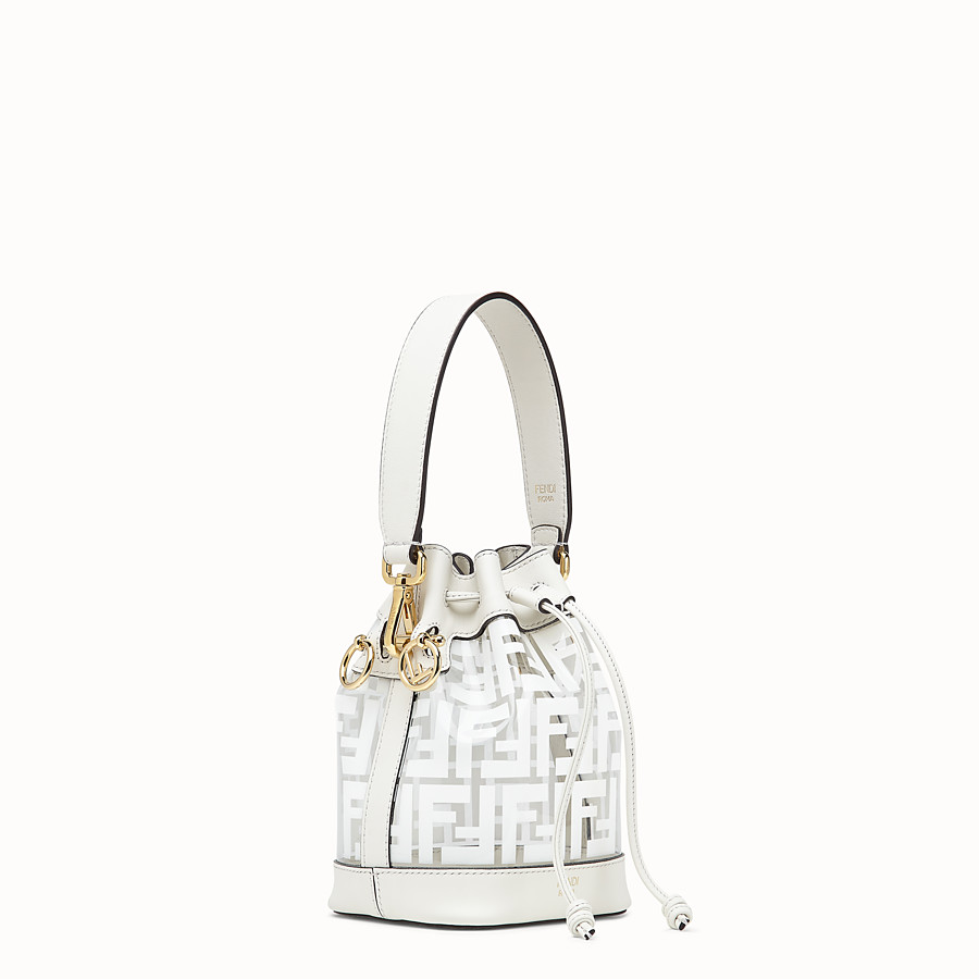 FENDI MON TRESOR - Transparent canvas mini-bag - view 2 detail