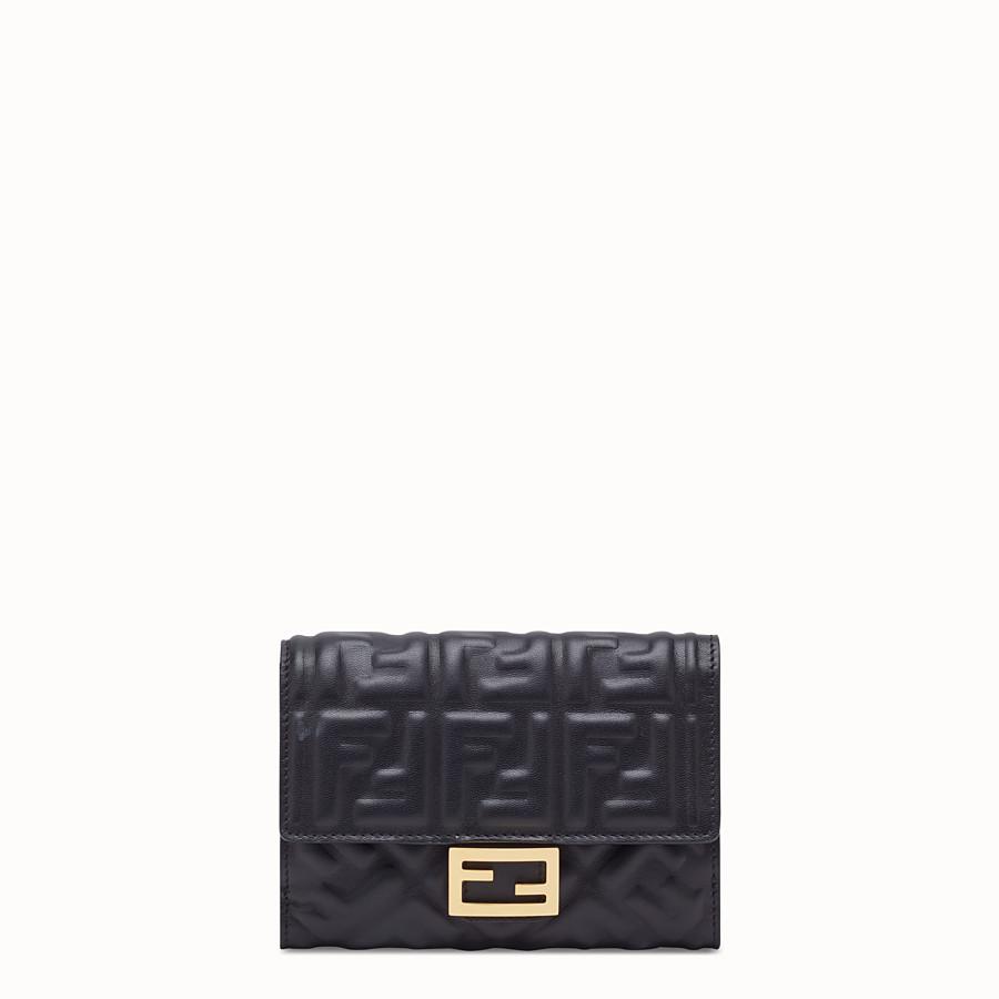 FENDI 財布 - ブラックナッパレザー ウォレット - view 1 detail