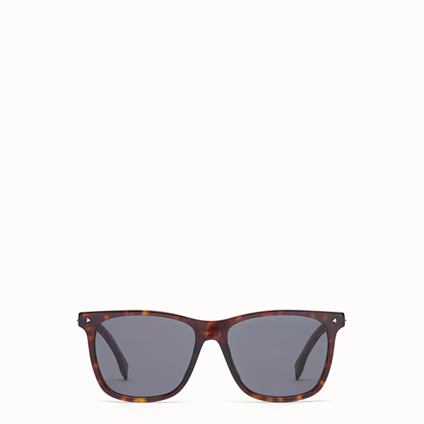 FENDI FENDI SUN FUN - Rectangular Havana sunglasses - view 1 small thumbnail