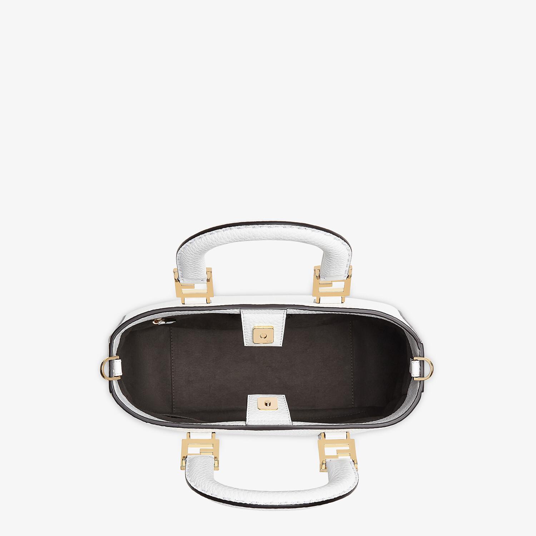 FENDI FF TOTE SMALL - Cuoio Romano leather bag - view 4 detail