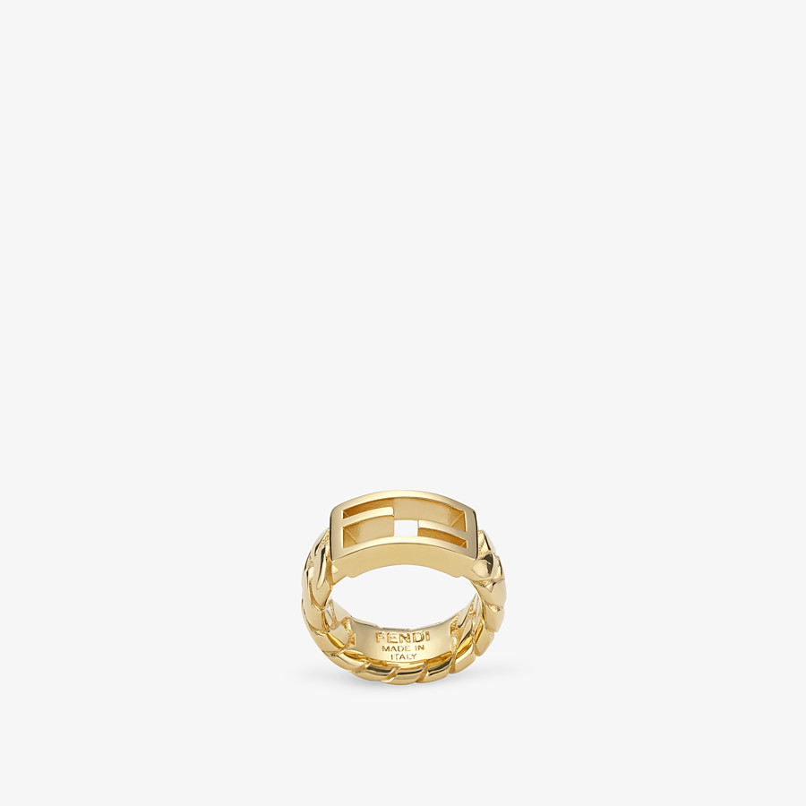 FENDI BAGUETTE RING LARGE  - Gold-colour ring - view 1 detail