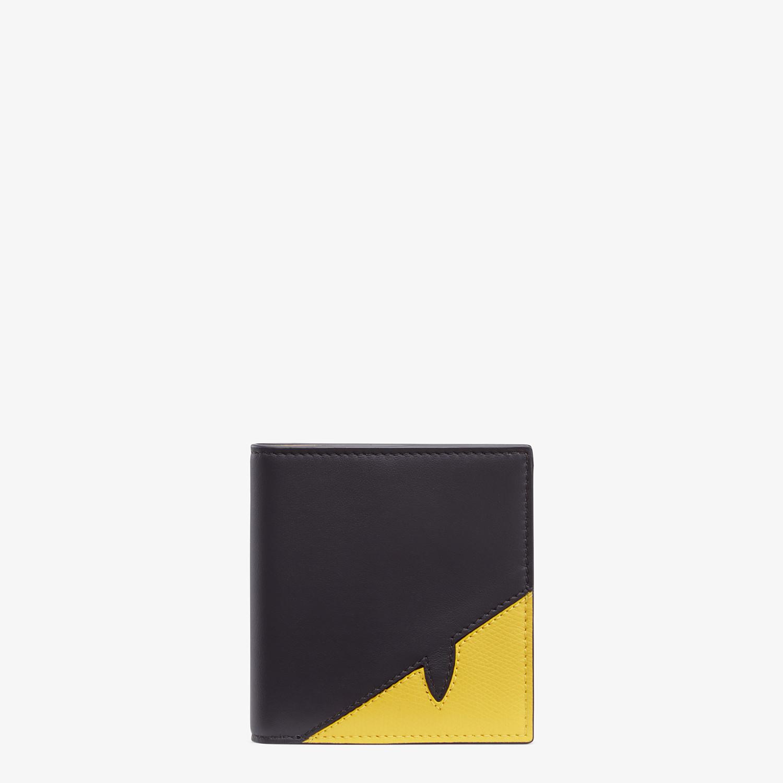 FENDI WALLET - Black calfskin bi-fold wallet - view 1 detail