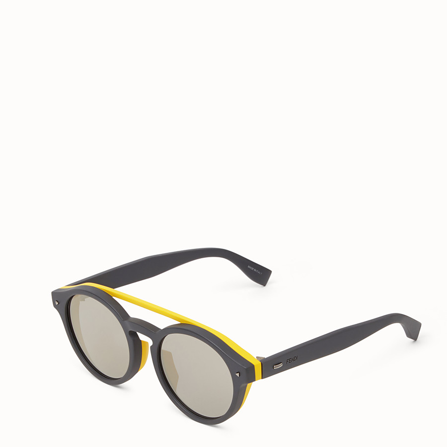 FENDI I SEE YOU - Lunettes de soleil grises - view 2 detail