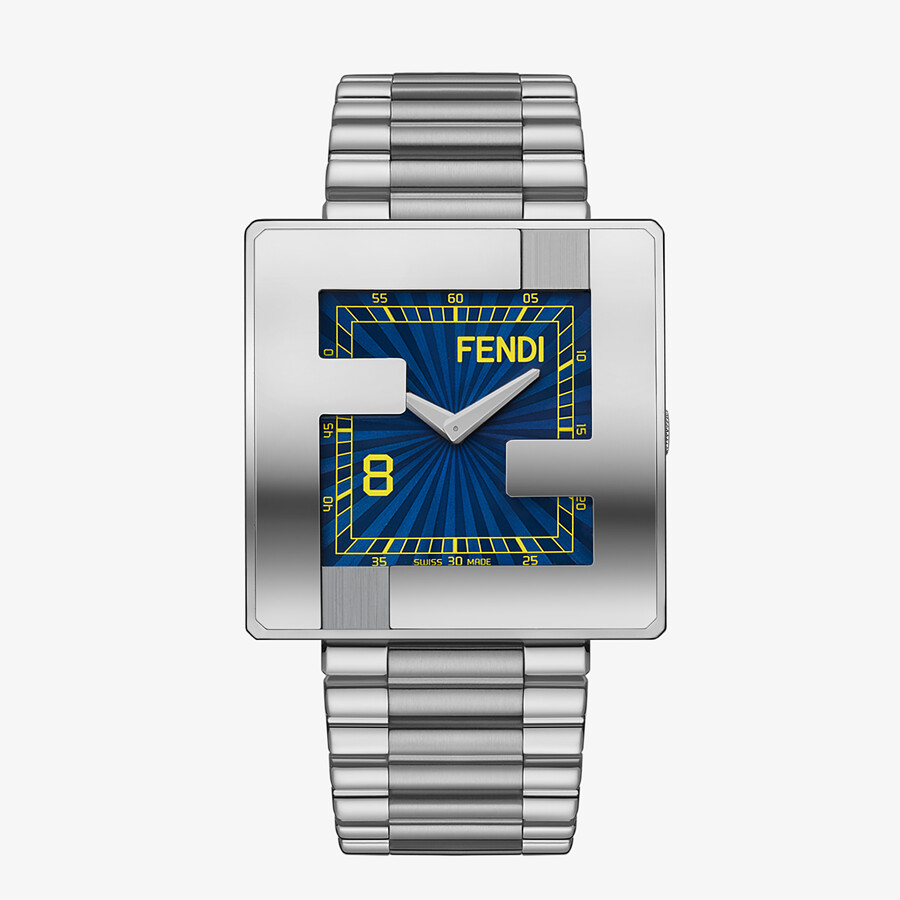 FENDI FENDIMANIA - 40 x 40 MM - Watch with FF logo bezel - view 1 detail