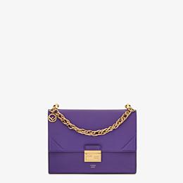 FENDI KAN U - Purple leather bag - view 1 thumbnail