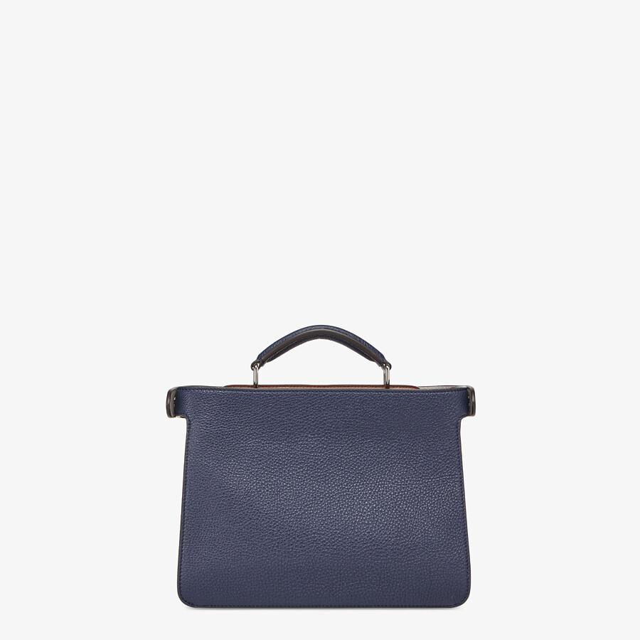 FENDI PEEKABOO ISEEU MINI - Dark blue leather bag - view 4 detail