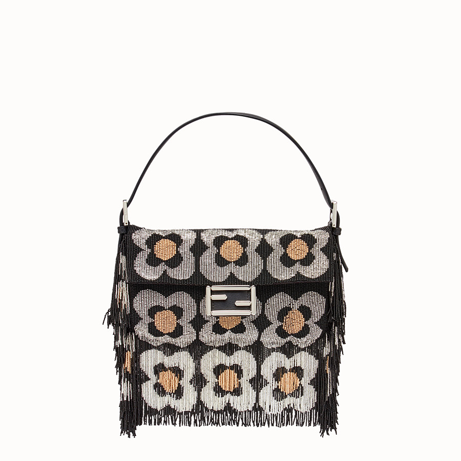 FENDI BAGUETTE - Shoulder bag with beads and fringing - view 1 detail
