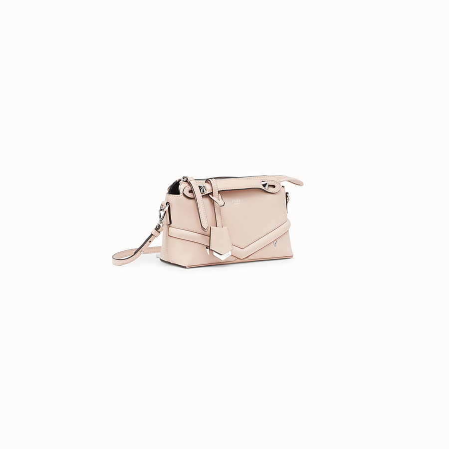 FENDI BABY BY THE WAY - Pink leather mini By The Way - view 2 detail