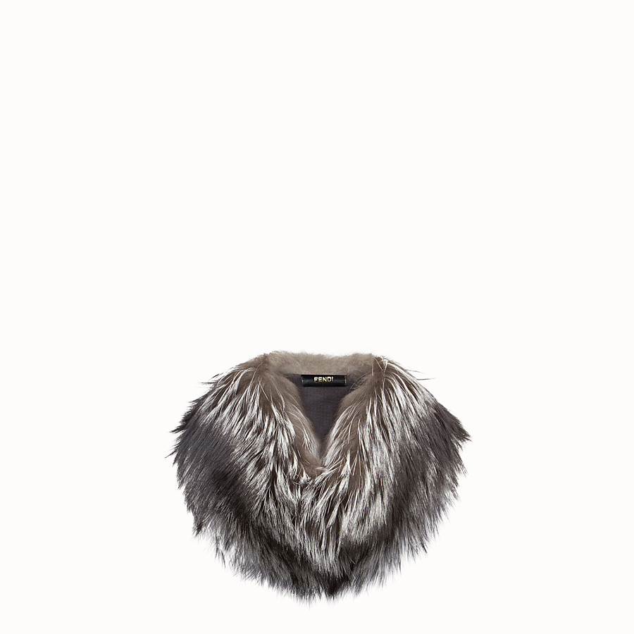 FENDI COLLAR - Natural fox collar - view 1 detail