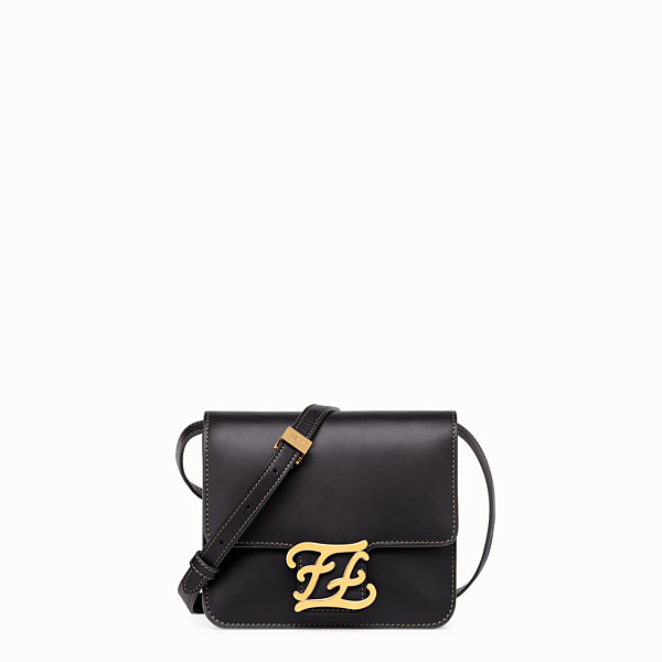 FENDI KARLIGRAPHY - Black leather bag - view 1 small thumbnail