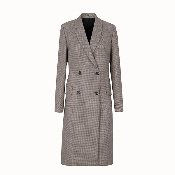 mezzo cappotto con cintura uomo