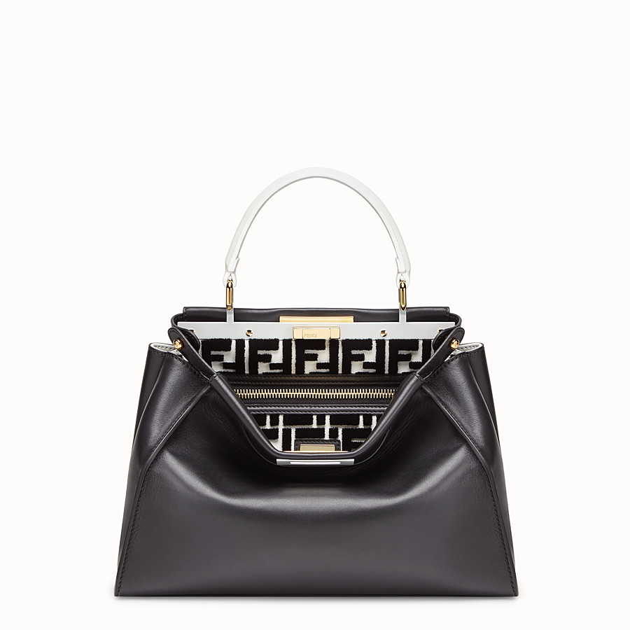 FENDI PEEKABOO REGULAR - Multicolour leather bag - view 1 detail