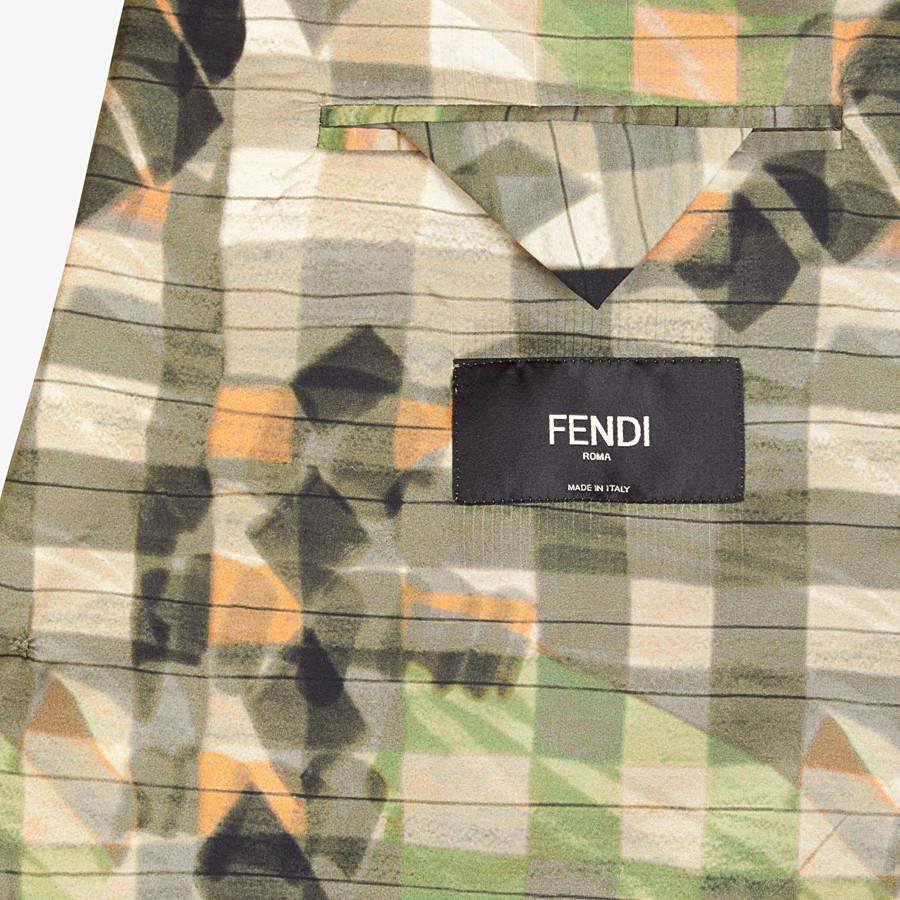 FENDI JACKET - Multicolor silk blazer - view 5 detail