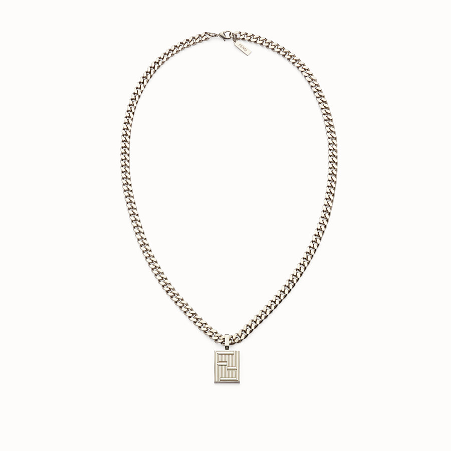 FENDI NECKLACE - Chain necklace with charm - view 1 detail