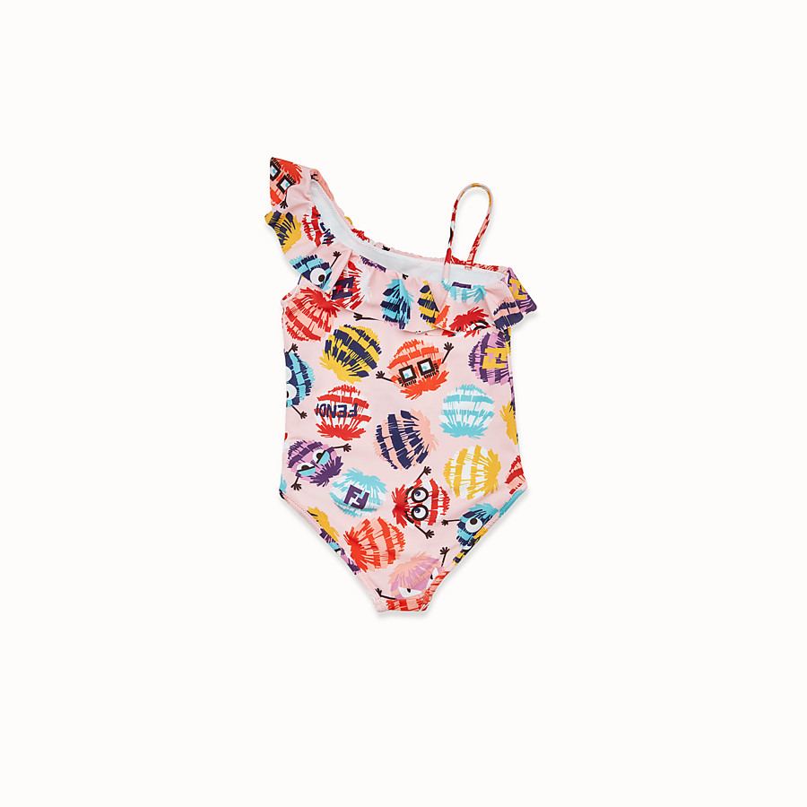 FENDI SWIMSUIT - Multicolour lycra swimsuit - view 2 detail