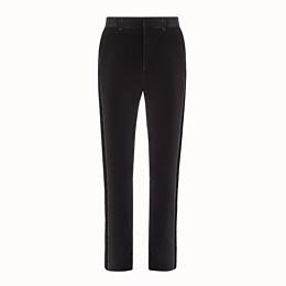 FENDI TROUSERS - Fendi trousers for Jackson Wang in velvet - view 1 thumbnail