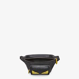 FENDI BELT BAG - Black leather belt bag - view 4 thumbnail