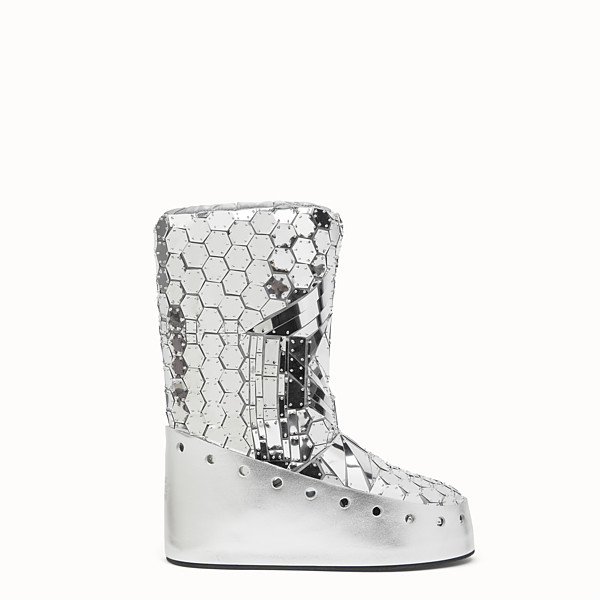 FENDI SKI BOOT - Fendi Prints On boots with mirror effect - view 1 small thumbnail