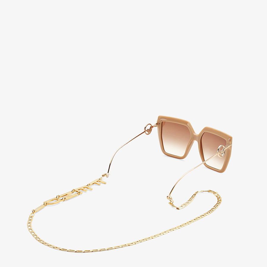 FENDI GLASSES CHAIN - Halskette Goldfarben - view 2 detail