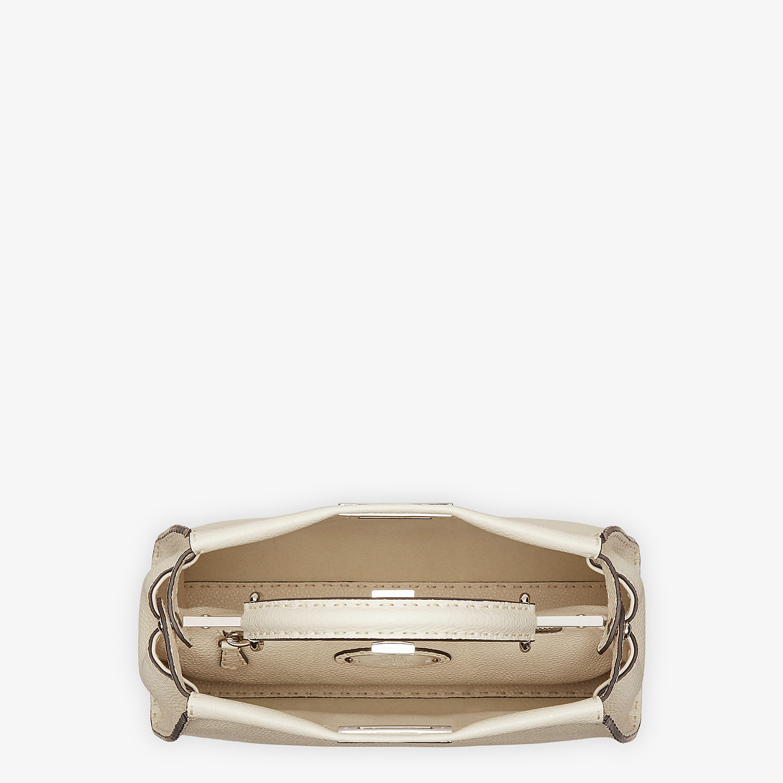 FENDI PEEKABOO ICONIC MEDIUM - White leather bag - view 4 detail