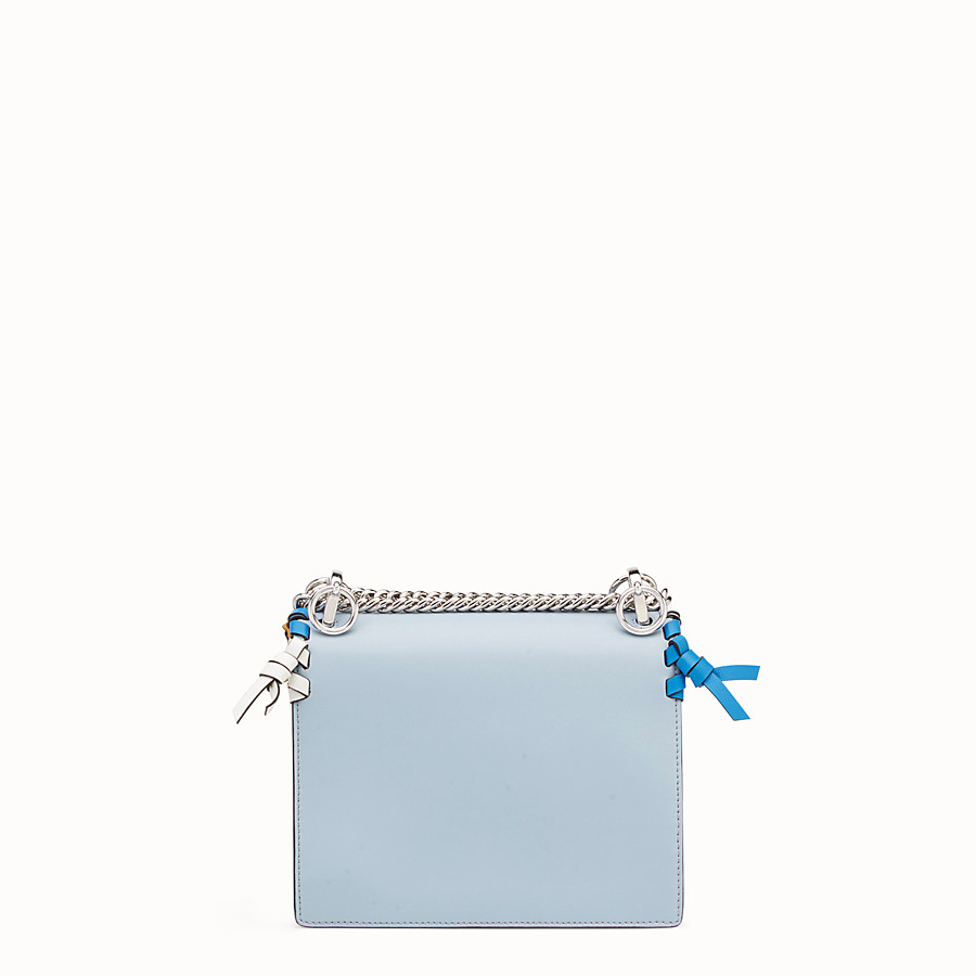 FENDI KAN I SMALL - Minisac en cuir bleu clair - view 3 detail