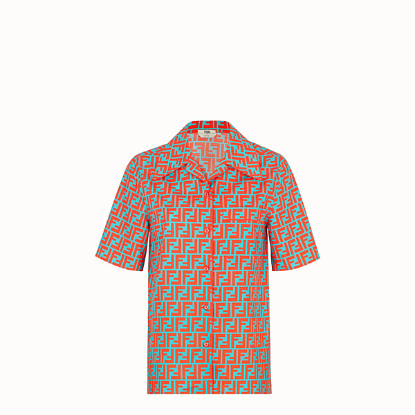FENDI SHIRT - Multicolour cotton shirt - view 1 small thumbnail
