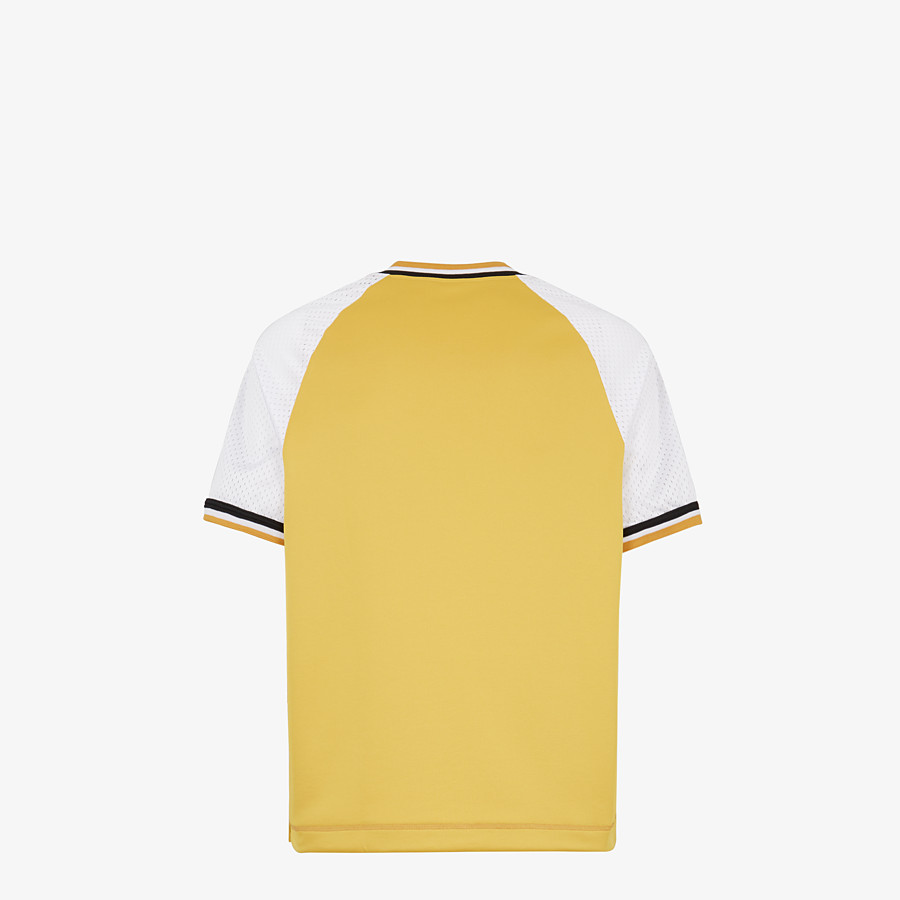 FENDI T-SHIRT - Yellow acetate T-shirt - view 2 detail