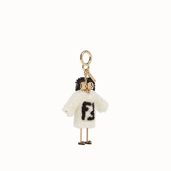 FENDI TEEN WITCHES CHARM - Multicolour sheepskin charm - view 1 small thumbnail