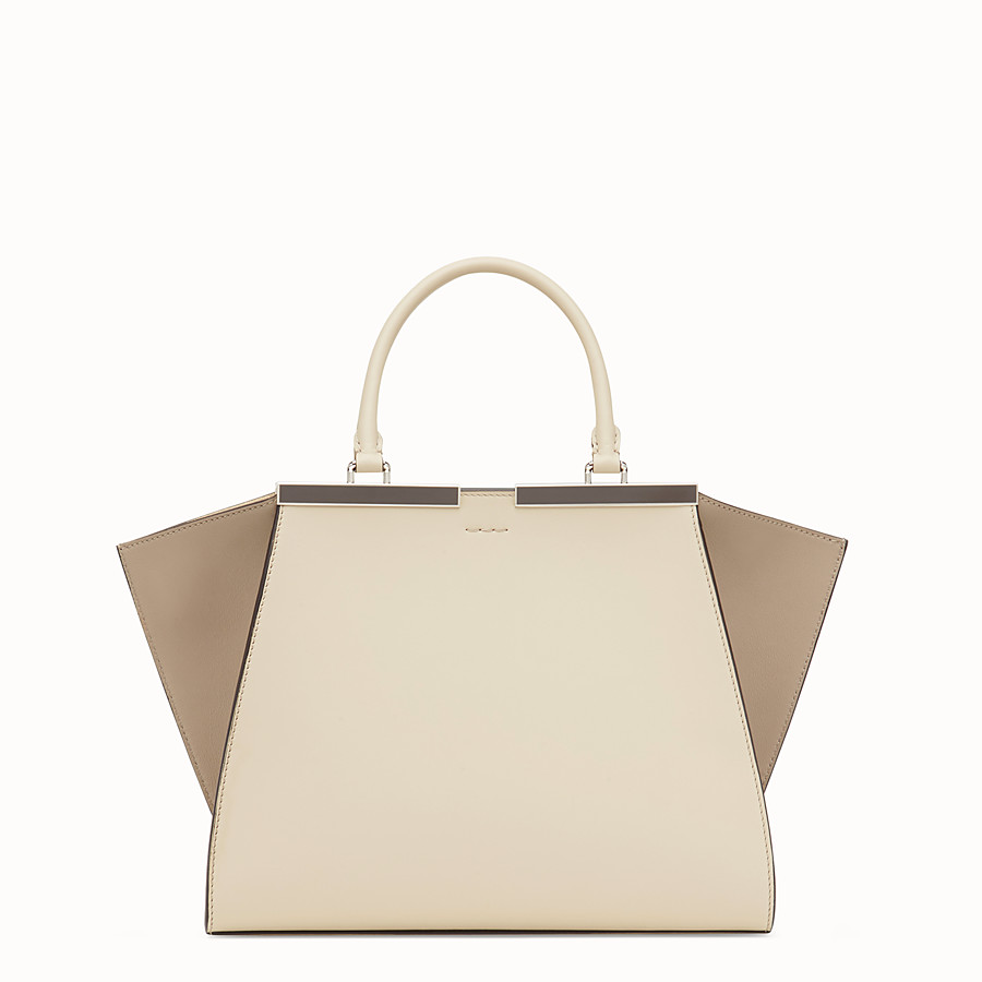 FENDI 3JOURS - Beige leather bag - view 3 detail
