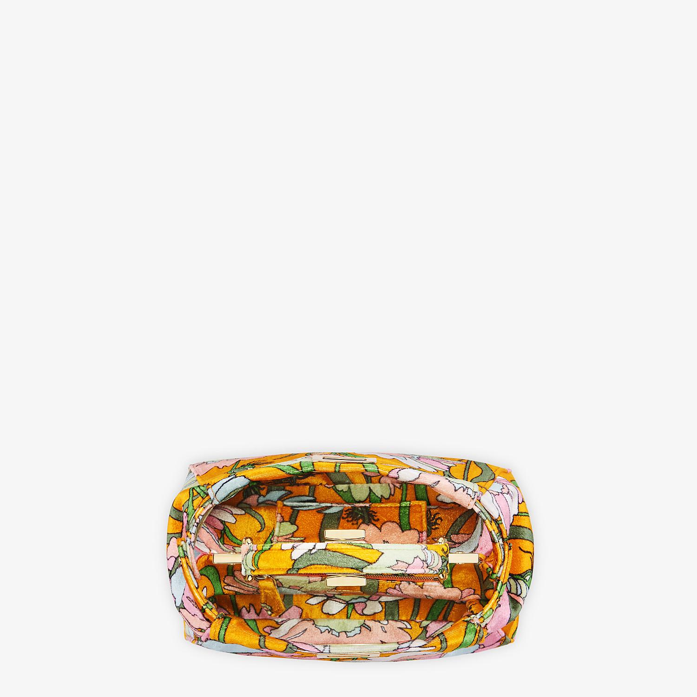 FENDI PEEKABOO ICONIC MINI - Bag in multicolour chenille - view 5 detail