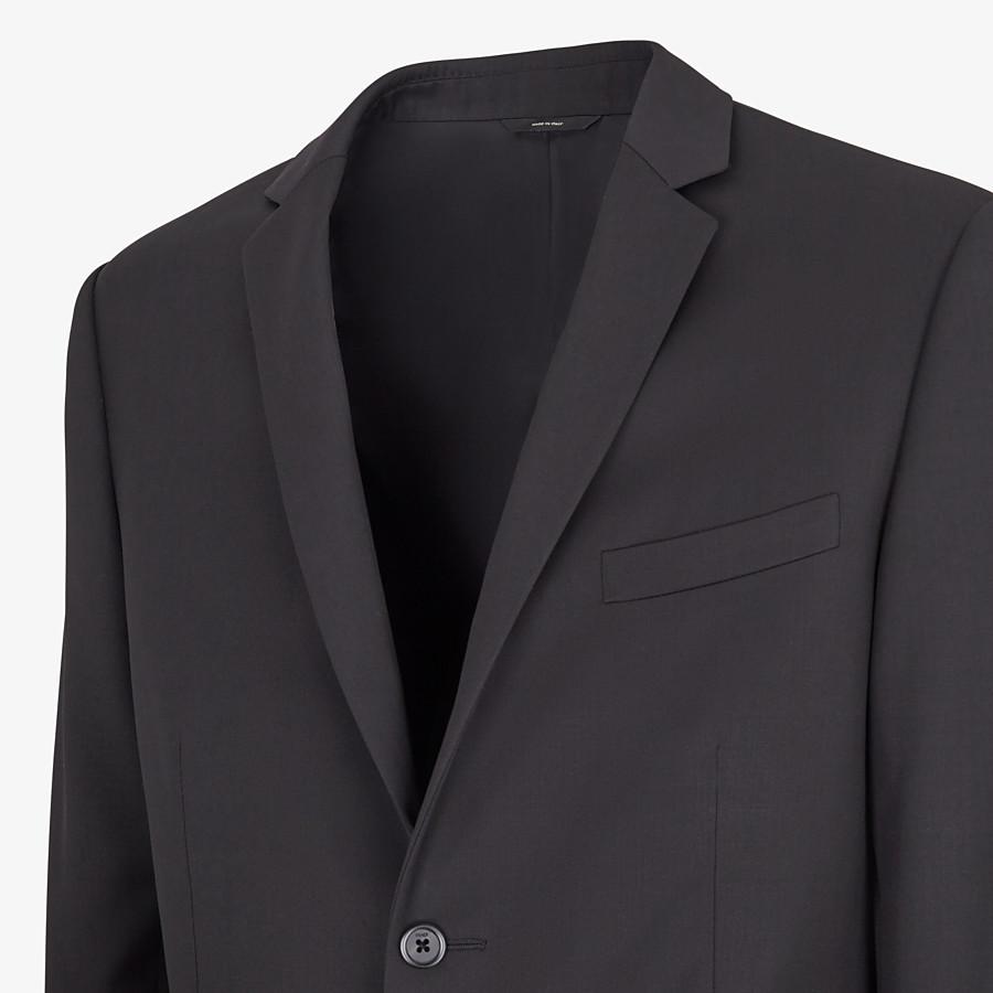 FENDI ABITO - Completo in lana nera - vista 2 dettaglio
