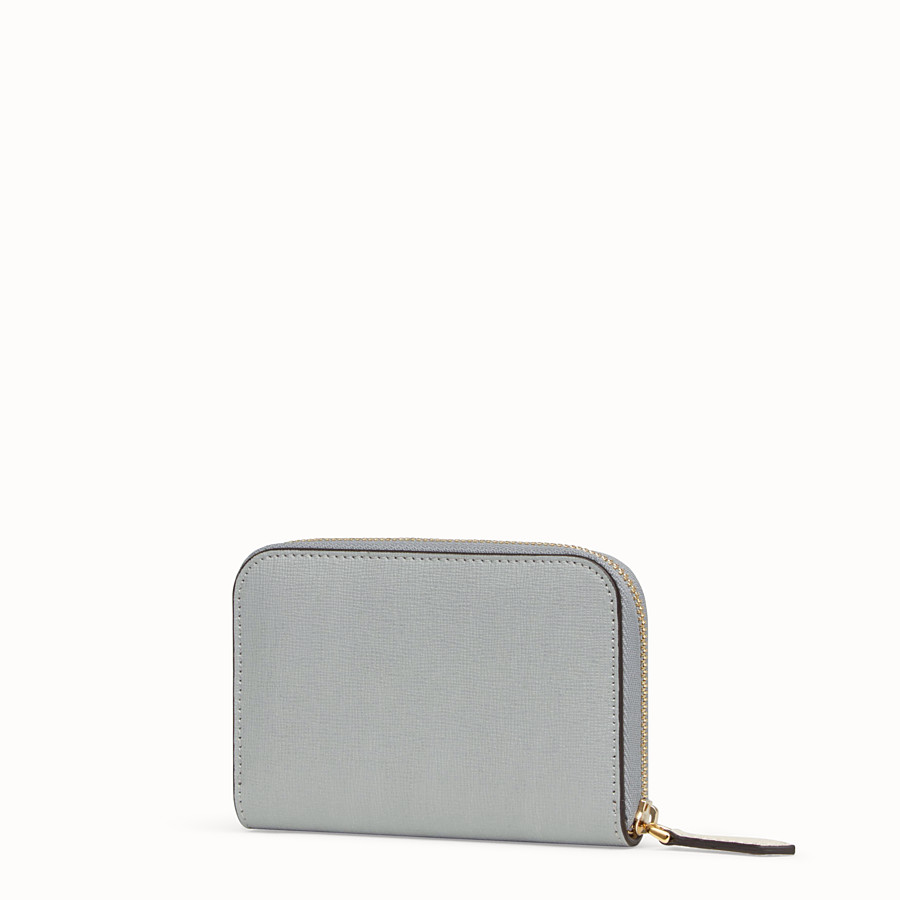 FENDI SMALL ZIP AROUND - Multicolor leather wallet - view 2 detail