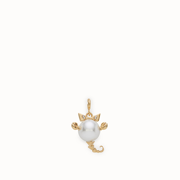 FENDI SCORPIO PENDANT - Pendant with pearl - view 1 small thumbnail