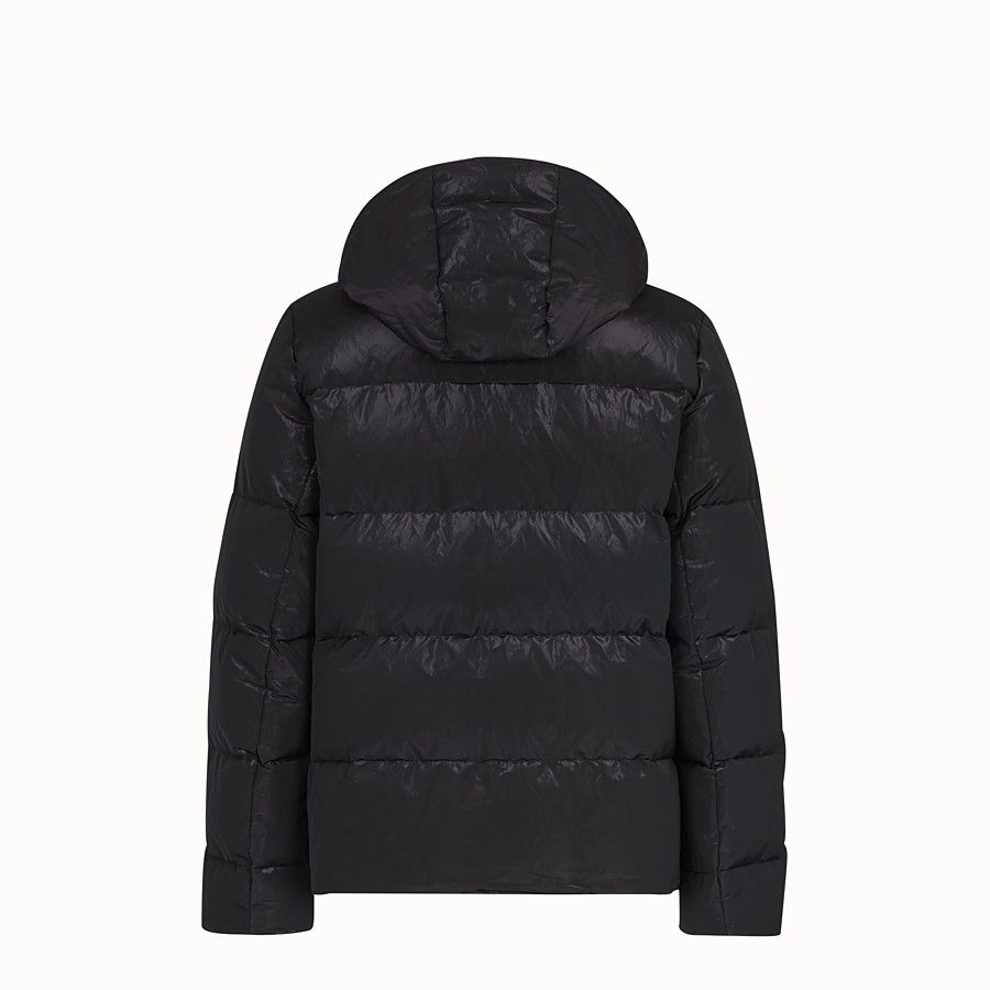 FENDI DOWN JACKET - Purple tech fabric down jacket - view 2 detail