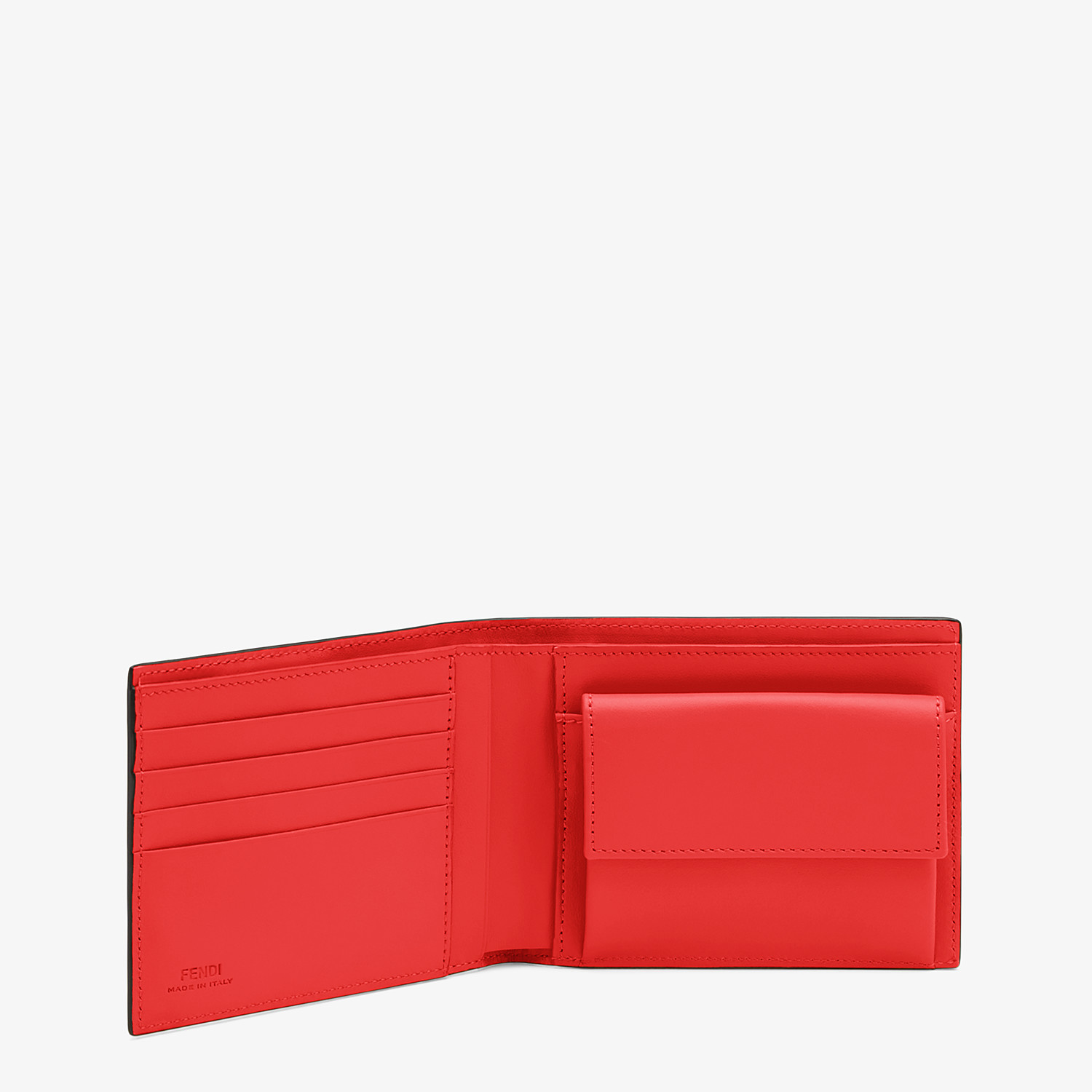 FENDI WALLET - Multicolour leather wallet - view 3 detail