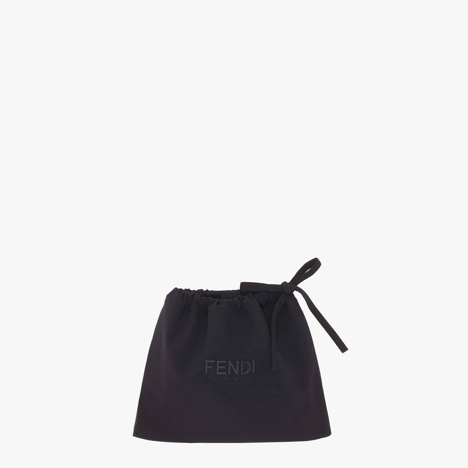 FENDI SWIMSUIT - Brown Lycra® swimsuit - view 4 detail