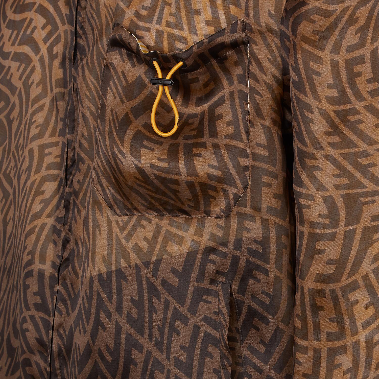 FENDI JACKET - Multicolor organza jacket - view 3 detail