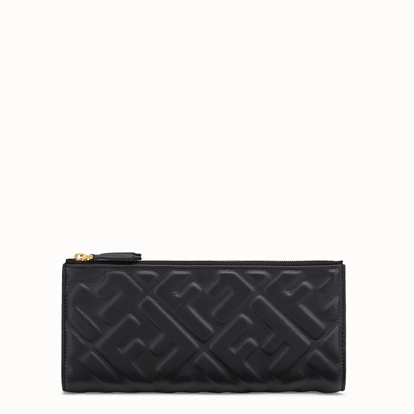 FENDI BIFOLD - Black leather wallet - view 1 small thumbnail