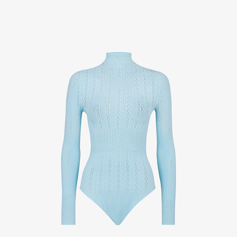 FENDI BODY - Light blue lace body - view 1 detail