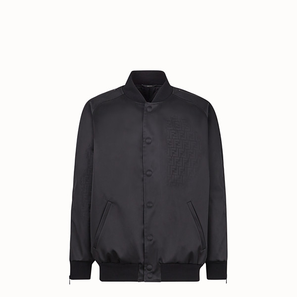 FENDI BLOUSON - Blouson aus Nylon in Schwarz - view 1 small thumbnail