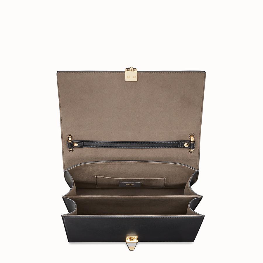 FENDI KAN I - 黑色皮革手袋 - view 4 detail