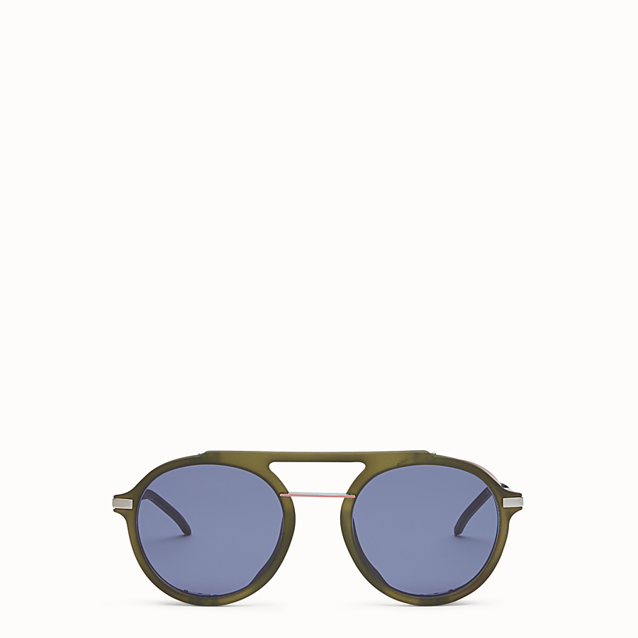 FENDI FENDI FANTASTIC - Green AW 17/18 Runway sunglasses - view 1 detail