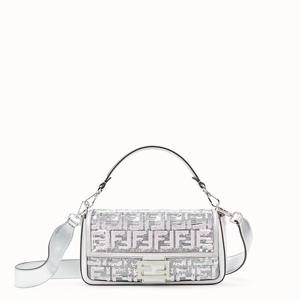 FENDI BAGUETTE - Borsa Fendi Prints On in PU - vista 1 thumbnail piccola