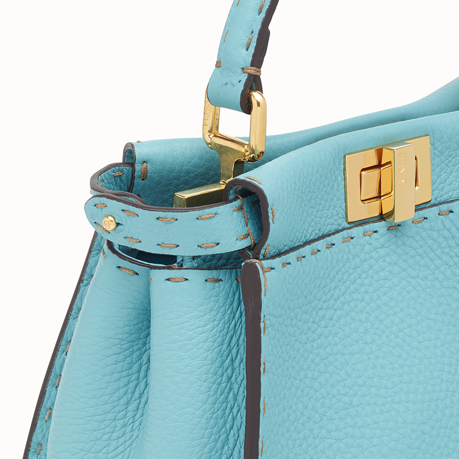 FENDI PEEKABOO MINI - Fendi Roma Amor leather bag - view 5 detail